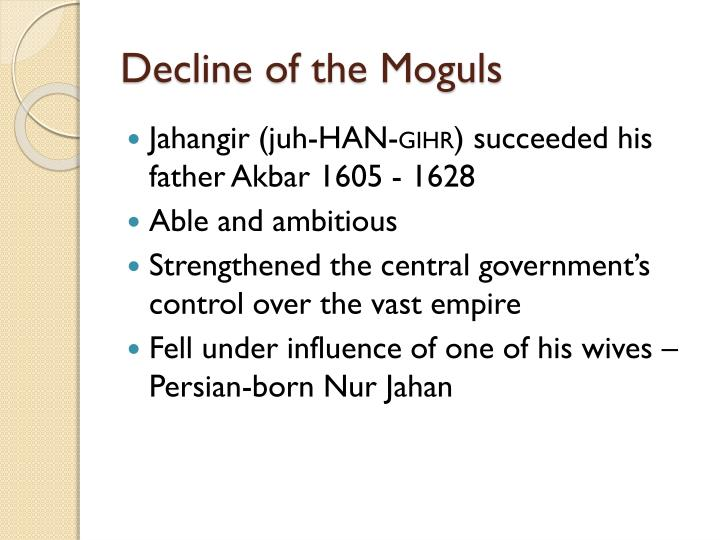 Decline of the Moguls