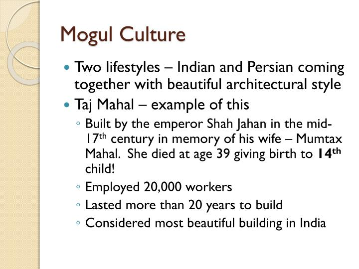 Mogul Culture