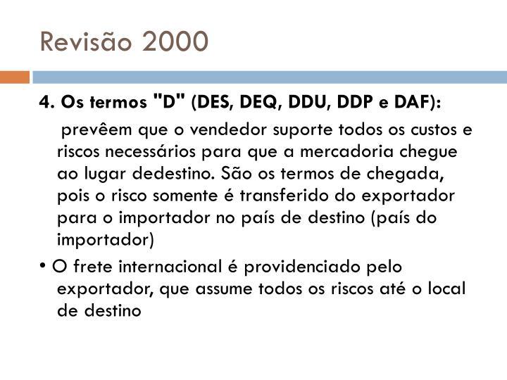 Revisão 2000