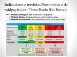 indicadores e medidas preventivas e de mitiga o ex plano bacia rio bravo