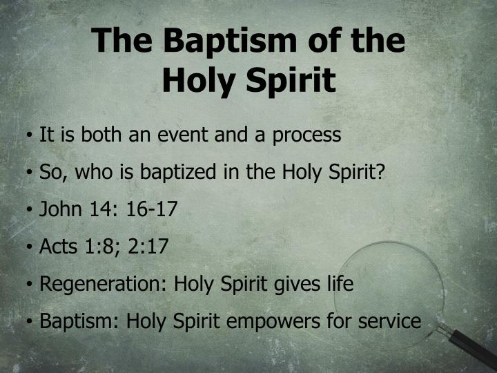The Baptism of the