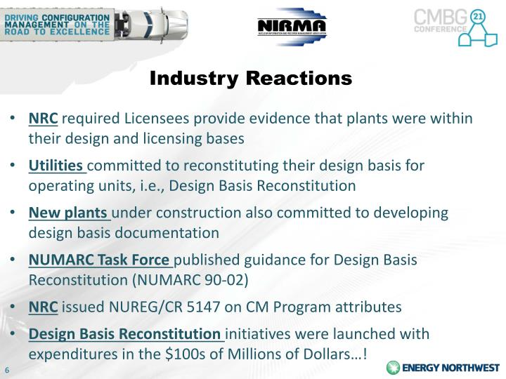 Industry Reactions