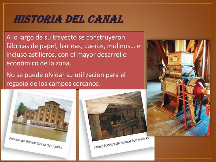 HISTORIA DEL CANAL