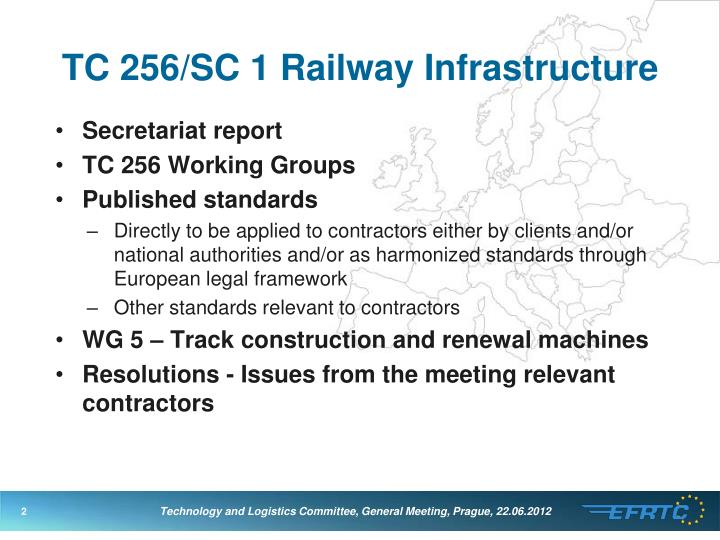 Tc 256 sc 1 railway infrastructure