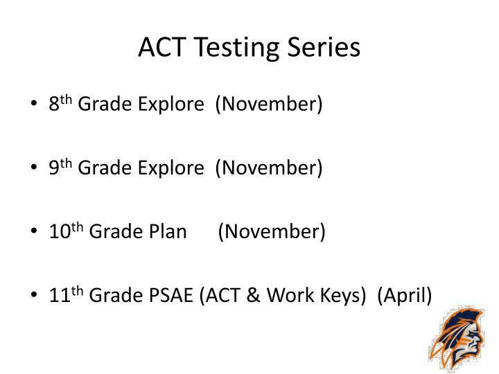 ACT Testing Series