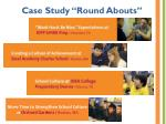 case study round abouts