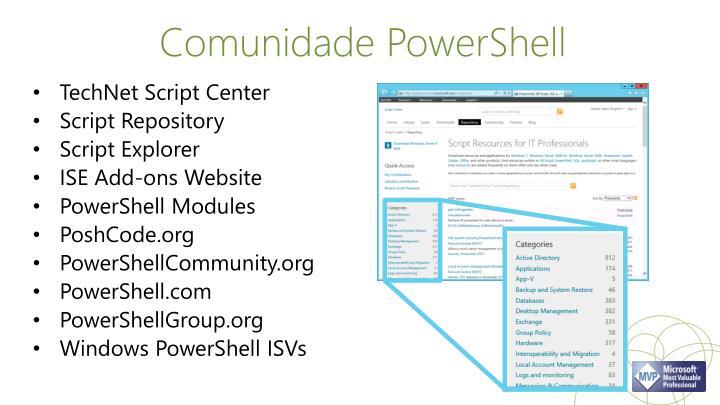 Comunidade PowerShell