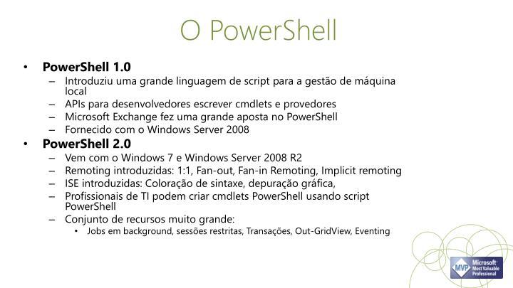 O PowerShell