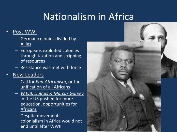 Nationalism in Africa