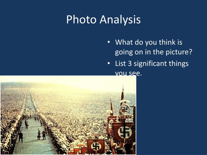 Photo Analysis