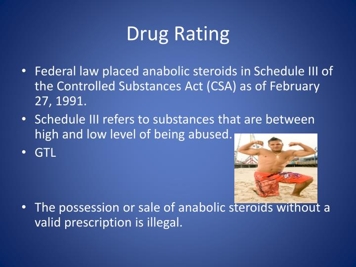 Drug Rating