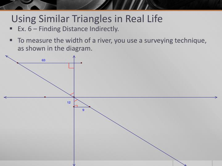 Using Similar Triangles in Real Life