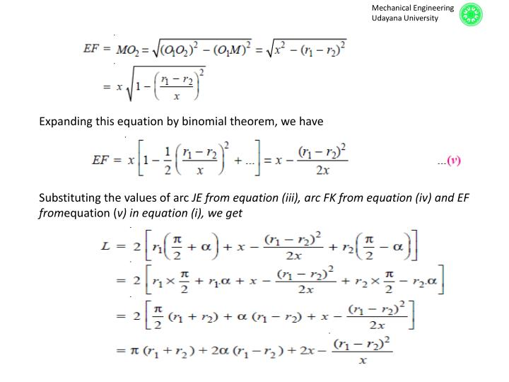 Expanding this equation by binomial theorem, we have