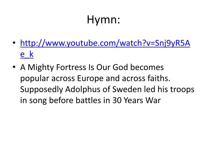 Hymn: