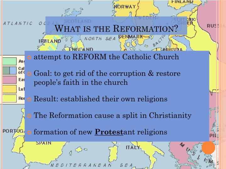 What is the Reformation?