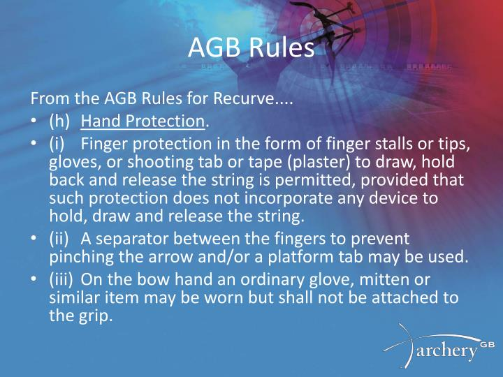 AGB Rules