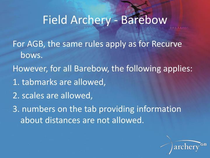 Field Archery -