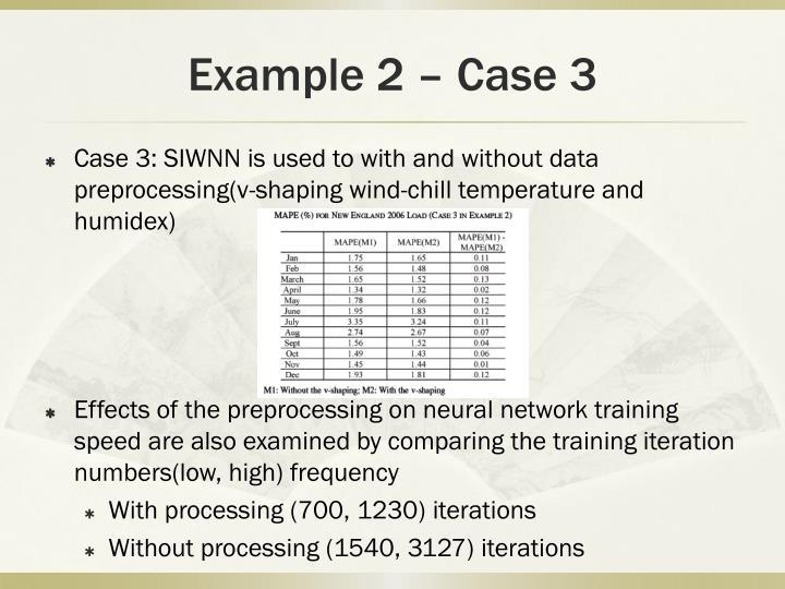 Example 2 – Case 3