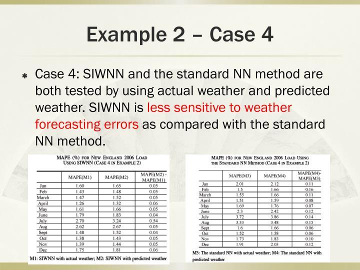 Example 2 – Case 4