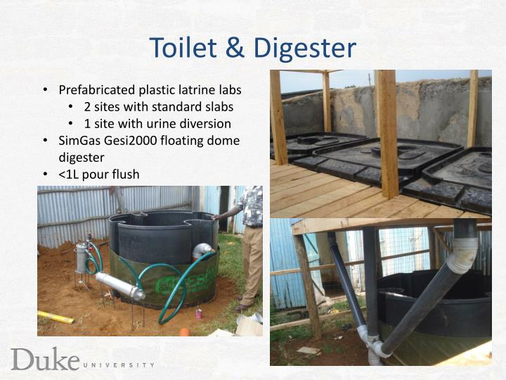 Toilet & Digester