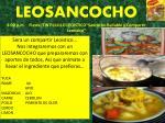 leosancocho 8 00 p m fiesta tintililillo leoistico sancocho bailable y compartir leoistico