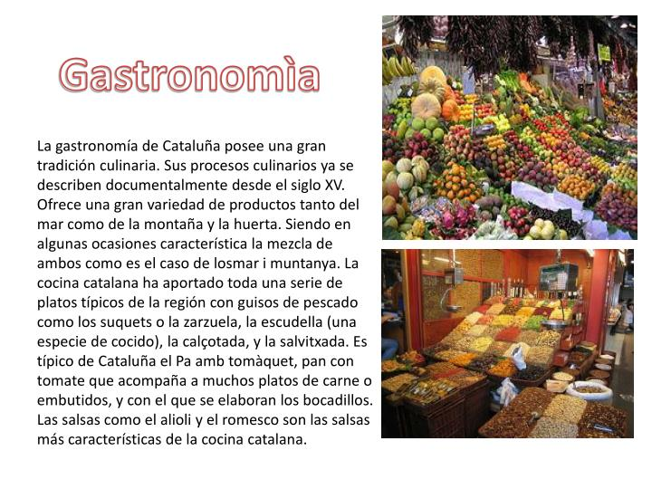Gastronomìa