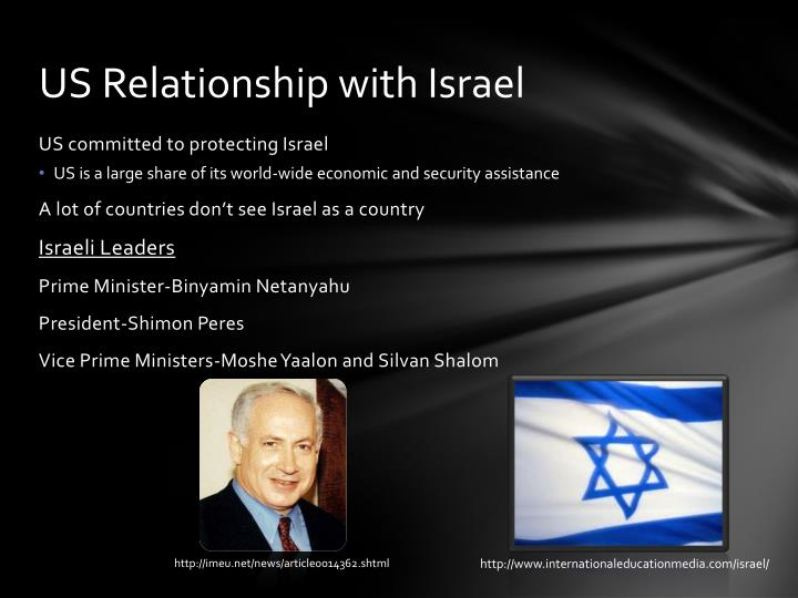 Us relationship with israel