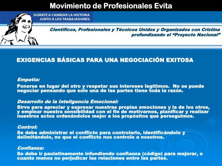 Movimiento de Profesionales Evita