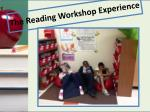 the reading workshop experience