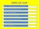 steps of dmp