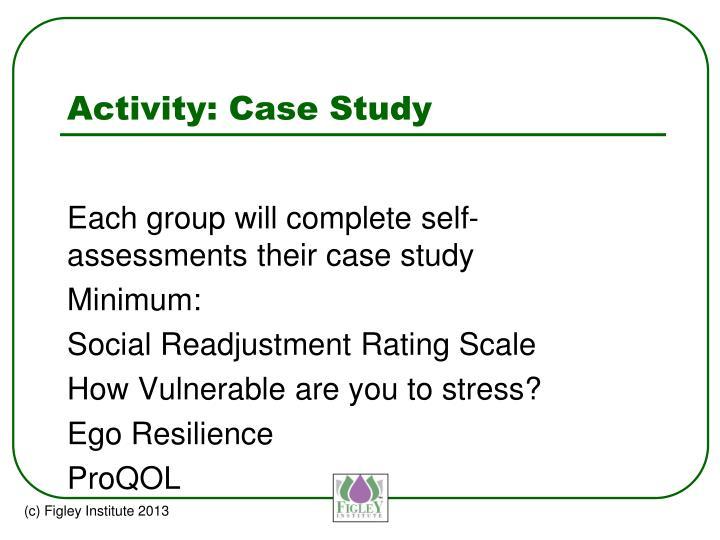 Activity: Case Study