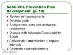 sosc viii prevention plan development p 10