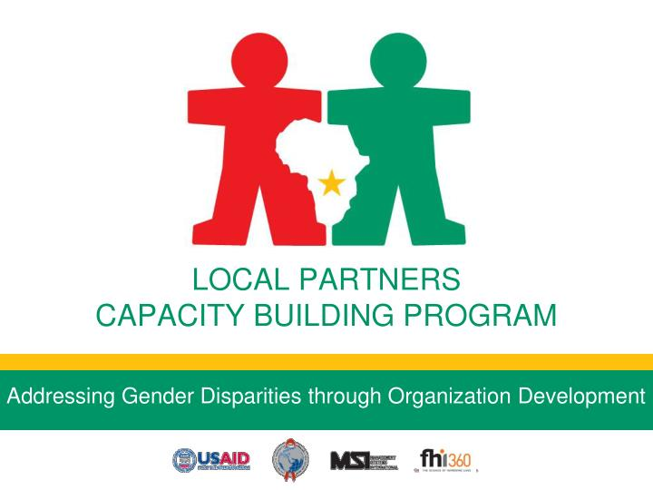 Addressing gender disparities through organization development