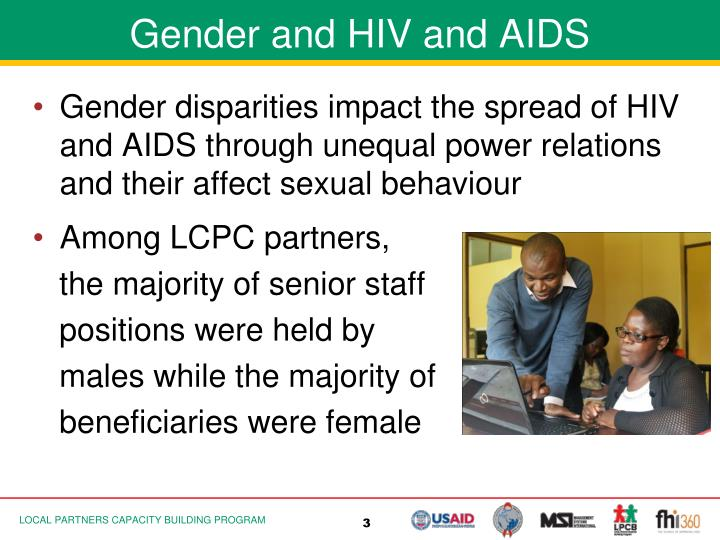 Gender and HIV and AIDS
