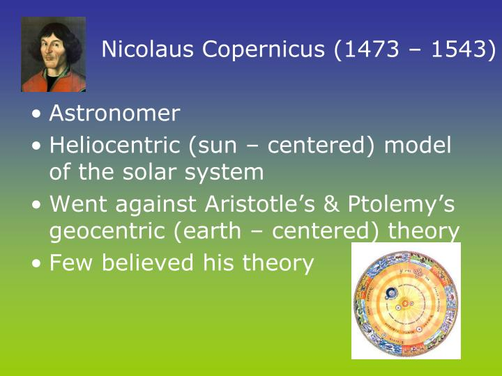 nicolaus copernicus sun centered solar system - photo #24