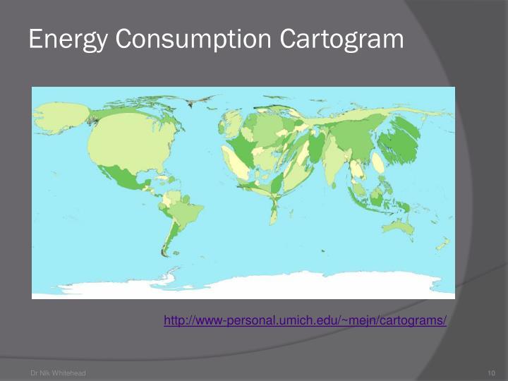 Energy Consumption Cartogram