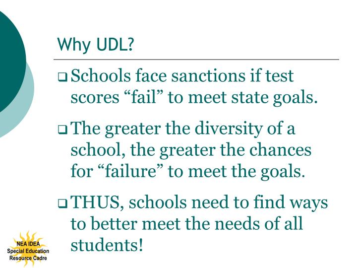 Why UDL?