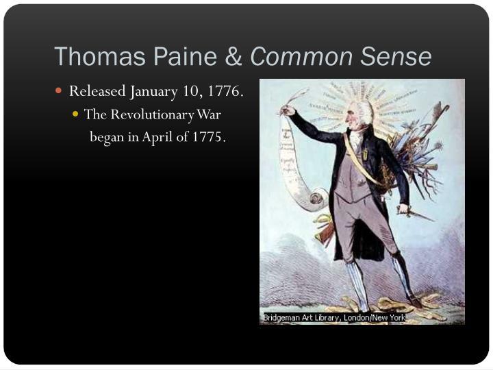 Thomas Paine &