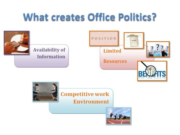 What creates Office Politics?