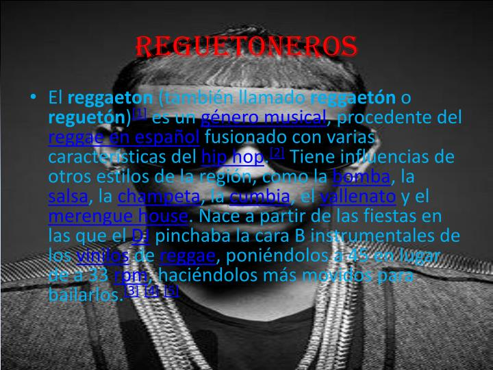 reguetoneros