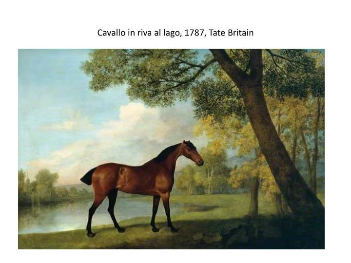 Cavallo in riva al lago, 1787, Tate Britain