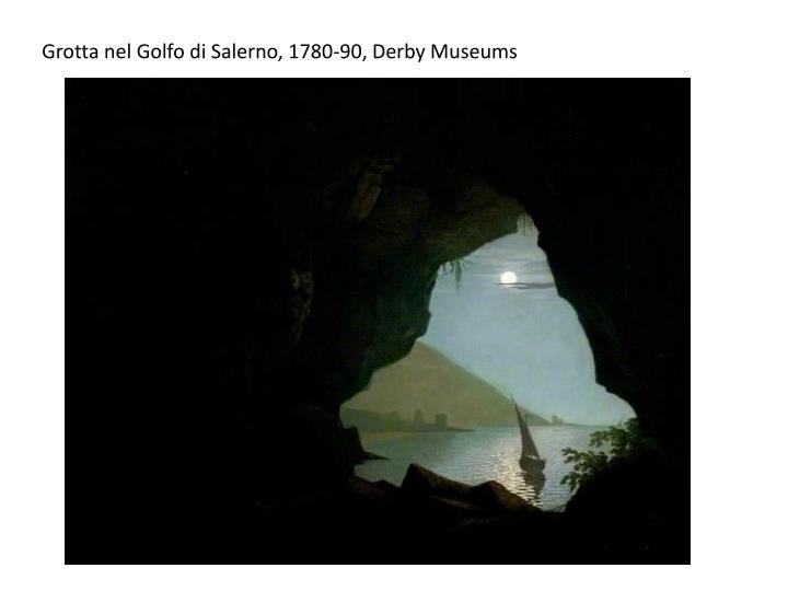 Grotta nel Golfo di Salerno, 1780-90, Derby