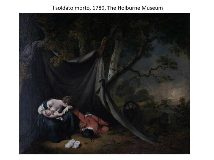 Il soldato morto, 1789, The