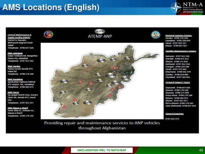 AMS Locations (English)