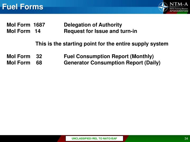 Fuel Forms
