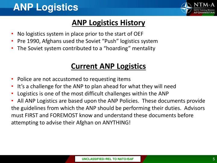 ANP Logistics
