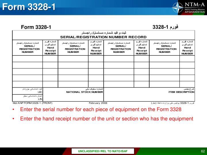 Form 3328-1