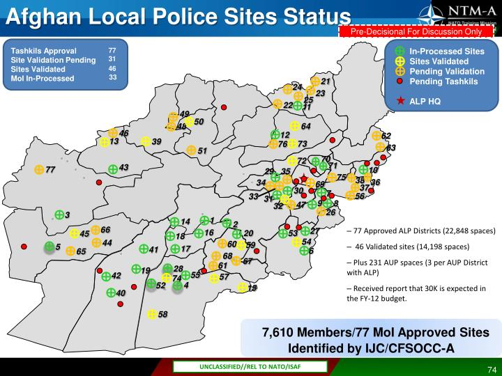 77 Approved ALP Districts (22,848 spaces)