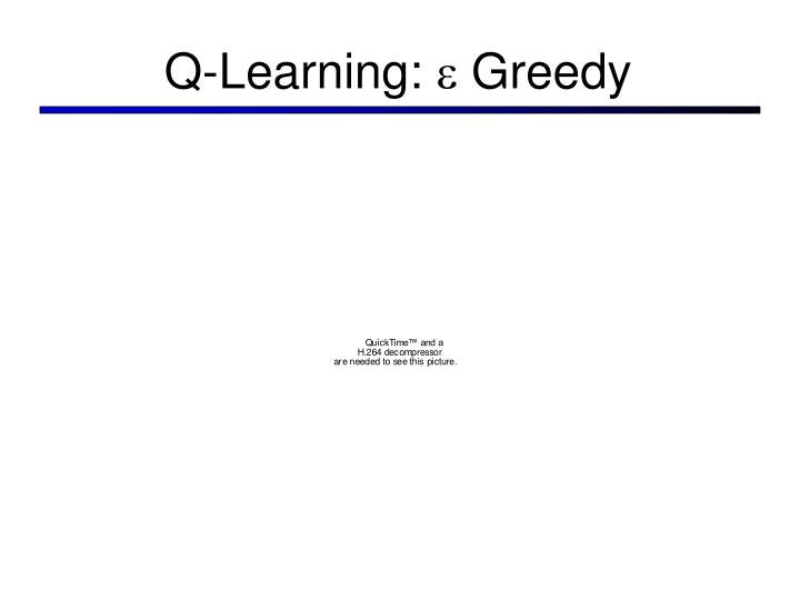 Q-Learning: