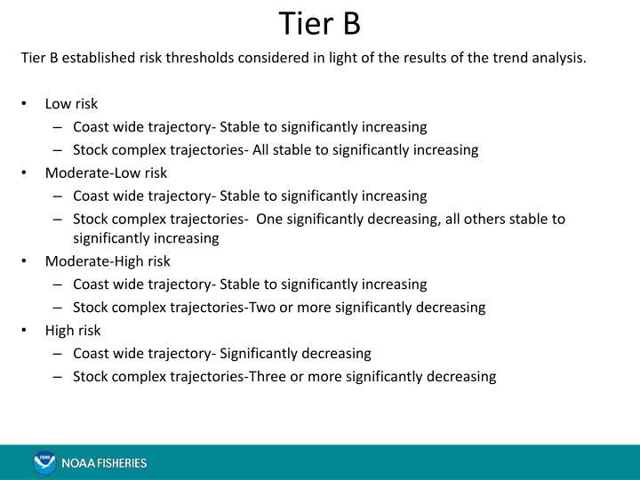 Tier B